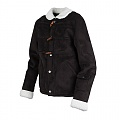 LUMBERJACK MOUTON JACKET_BLACK