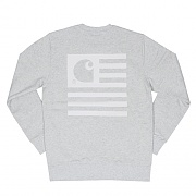 (I019966)STATE FLAG SWEATSHIRT-ASH HEATHER