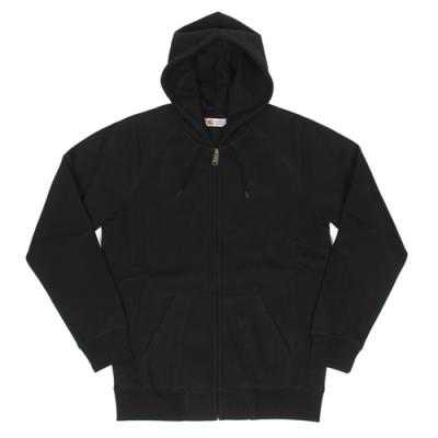 (I015898) OG HOODED CHASE JACKET-BLK/GOLD