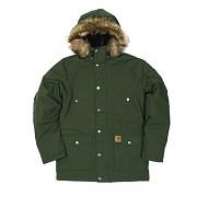 (I021869)WIP TRAPPER PARKA-CYPRESS / BLACK