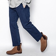 DENIM SLACKS BLUE