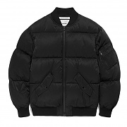 FAVJ02-DOWN MA-1 JACKET FA [BLACK]