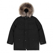 N3B DOWN PARKA-BLACK