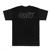 (163081319)OBEY LO-FI  TEE-BLK
