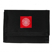 (100310080)REVOLT RED TRI-FOLD WALLET-BLK