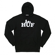 HUF X SNOOPY PULLOVER HOOD-BLK