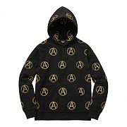 Supreme x UNDERCOVER Anarchy Hooded Sweatshirt - Black