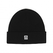 (100030072)EIGHTY NINE BEANIE-BLK