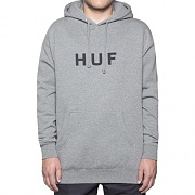 ORIGINAL LOGO PULLOVER FLEECE-GREY(BLK)