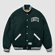 ARCH LOGO WOOL JACKET (GREEN)_CMOSISJ01MG1