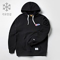BIG FLAG ICON OVERFIT HOODIE WINTER (BLACK)_CMOSIHD81MC6