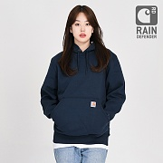 (100615)M RD PAXTON HW HOODED SWEATSHIRT-NVY (472)