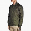 QUILTED MILITARY JACKET-OLV