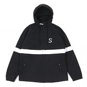 SPORT NYLON JACKET-BLACK