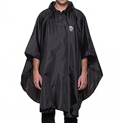 THRASHER PACKABLE PONCHO-BLK