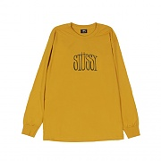 STUSSY STRETCH LS TEE-MUST