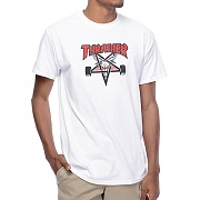 (3111773)TWO TONE SK8GOAT S/S TEE-WHT