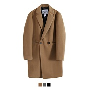 Heavy Line Wool Double Coat