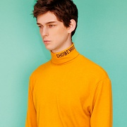 Turtleneck knit (mustard)