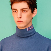 Turtleneck knit (sky)