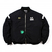 CAMP FIRE MA-1 JACKET(BLACK)