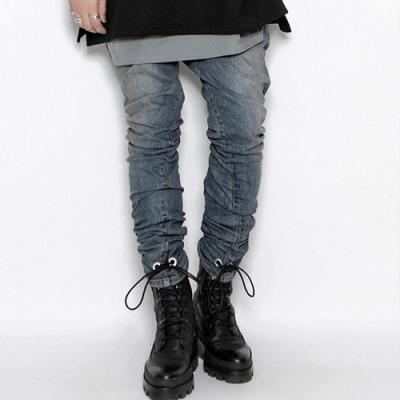The Functional Way Eyelet Blue Washed Jean Skinny Fit