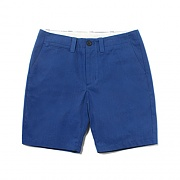 COTTON SHORTS-BLUE