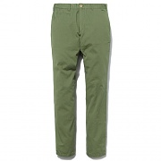 WASHED CHINO PANTS -OLV