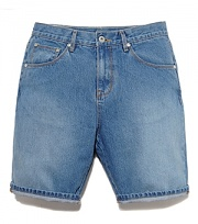 WASHED DENIM SHORT-L.BLE