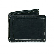 PEBBLE PASSCASE WALLET - BLACK