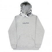 WORLD WIDE OUTCAST HOODIE-GRAY