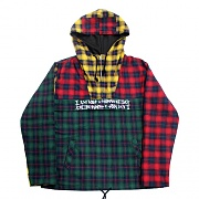 TARTAN CHECK PATCH ANORAK