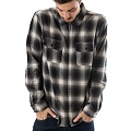 FOLSOM PLAID JACKET-BLK