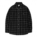 GSVS22-WINDOW CHECK SHIRTS GS [BLACK]