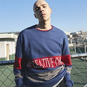 COLORATED SWEATSHIRTS_NAVY
