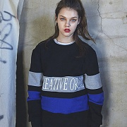 COLORATED SWEATSHIRTS_BLACK