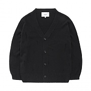 DAMAGE CARDIGAN GS-BLACK