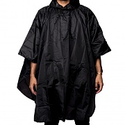 THRASHER PACKABLE PONCHO(none)-BLK