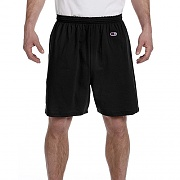 CHAMPION COTTON GYM SHORT-BLK
