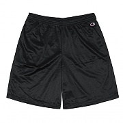 LONG MESH GYM SHORT-BLK