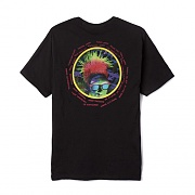 PYSCHEDELIC TOUR TEE-BLK