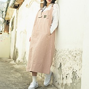 Pocket Long One-piece_Pink