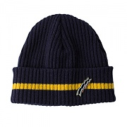 STRIPE WATCH CAP_NAVY