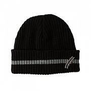 STRIPE WATCH CAP_BLACK
