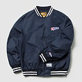 BIG FLAG ICON COTTON JACKET (NAVY)_CMOEPSJ31MN0