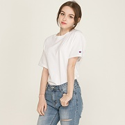 (T0223) CLASSIC JERSEY TEE-WHITE