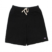 FRENCH TERRY SHORT-BLACK