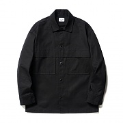 Fatigue Pocket Shirt Jacket Black