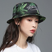 TROPICAL BUCKETS HAT_BLACK