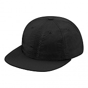 Tonal Vertical Logo 6-Panel-Black